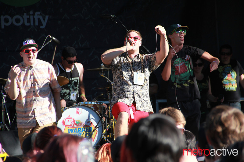 MC Lars @ Van's Warped Tour.  Images by: CJ