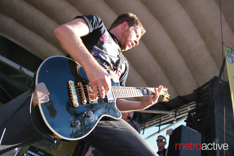 The Chariot @ Van's Warped Tour.  Images by: CJ