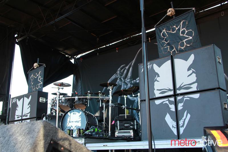 Black Veil Brides @ Van's Warped Tour.  Images by: CJ