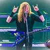 Dave Mustaine of Megadeth live at The Venue July 2014