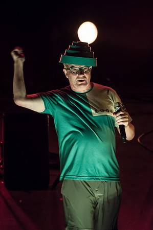 Mark Mothersbaugh having just tossed out a few power domes
