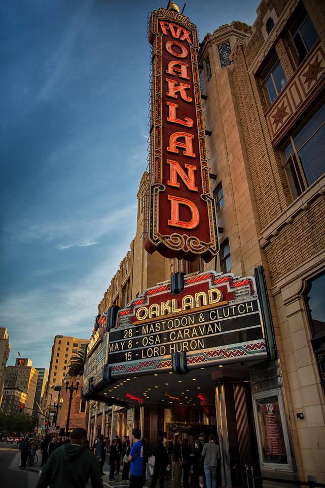 Fox Theatre, Oakland CA