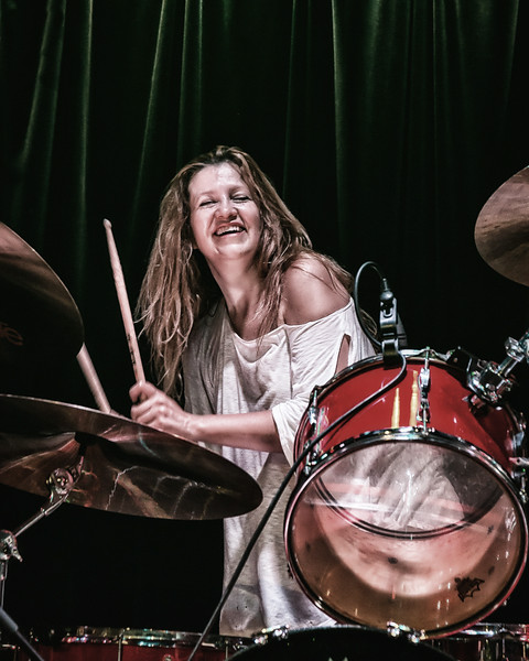 Drummer and group founder Clementine