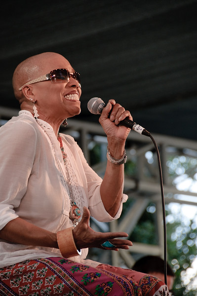 Dee Dee Bridgewater at the 2009 San Jose Jazz Festival