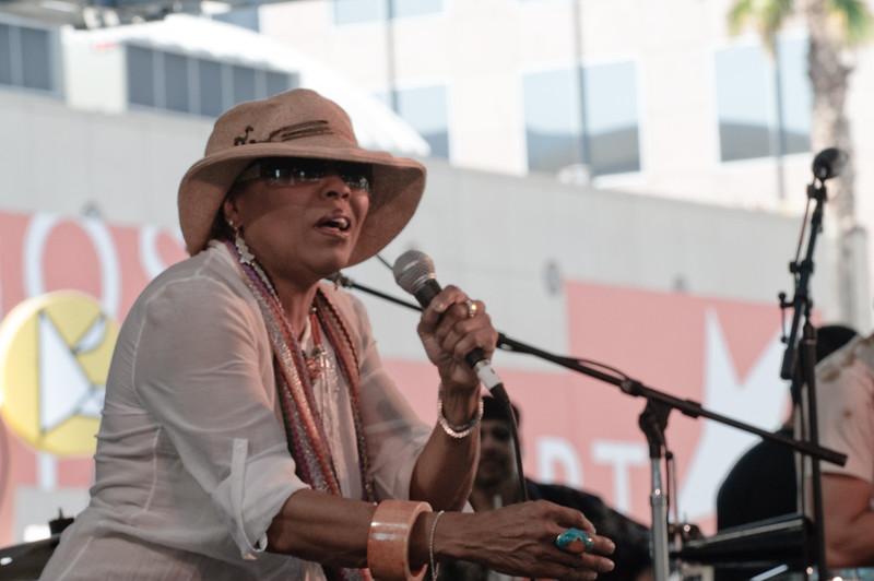 Dee Dee Bridgewater at the 2009 San Jose Jazz Festival