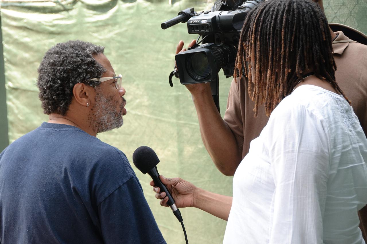 Don Byron - 2009 San Jose Jazz Festival, backstage interviews