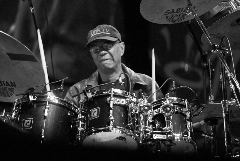 Jack DeJohnette at the 2004 Monterey Jazz Festival