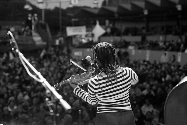 Regina Carter - 2004 Monterey Jazz Festival