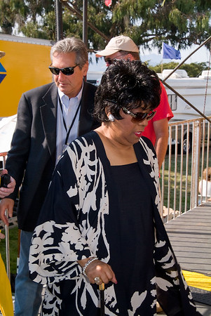 Ruth Brown w/Tom Mazzolini, Festival Founder