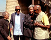 2002 Monterey Jazz Festival - Nancy Wilson, backstage with the Heath Brothers