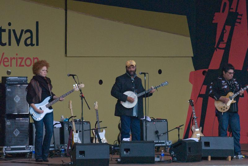 Otis Taylor, 2007 Monterey Jazz Festival
