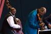 Charnette Moffett and Ornette Coleman, 2007 Monterey Jazz Festival
