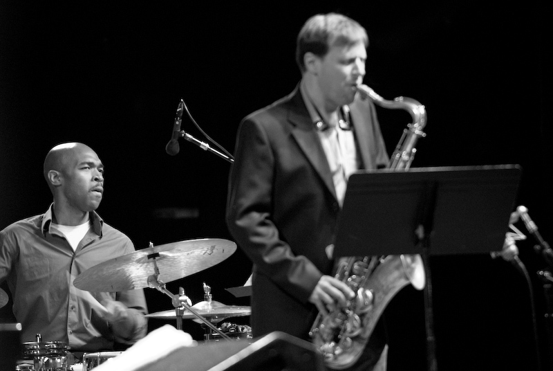 Eric Harland and Chris Potter, 2007 Monterey Jazz Festival