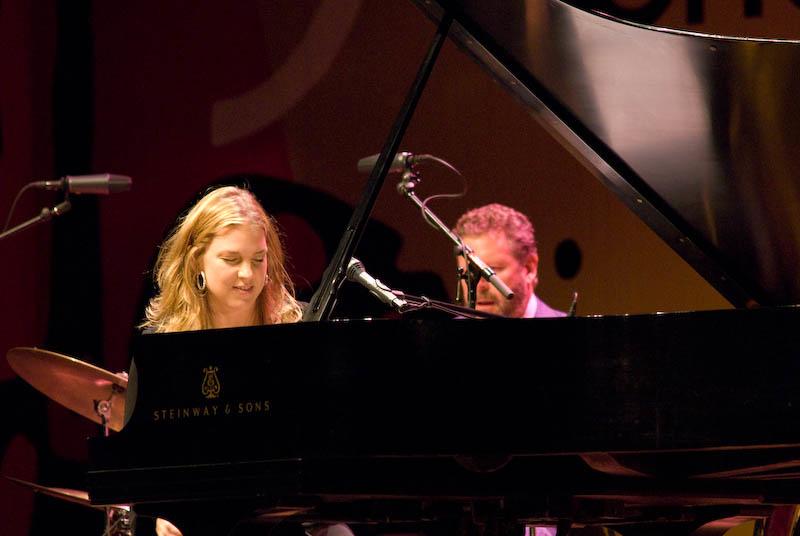 Diana Krall, 2007 Monterey Jazz Festival