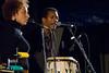 Lynne Fiddmont and Munyungo Jackson, 2007 Monterey Jazz Festival