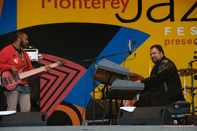 Steven Bruner and George Duke