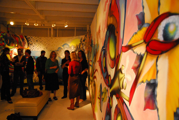 Friday March 30th, 2007 Opening night for 210 Studios and XEC canvas.