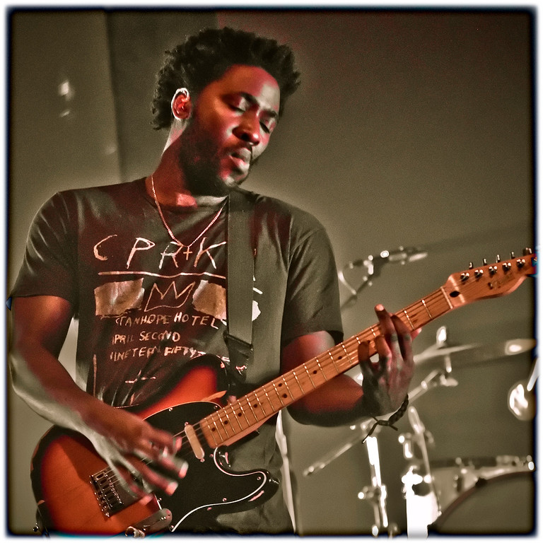 Bloc Party's, Kele Okereke performing live at the World Trade Center, Philippines