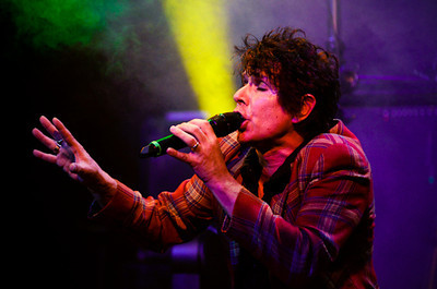 Blue Zoo, an iconic 80's new-wave band, perform live in Manila at the Hardrock Cafe.