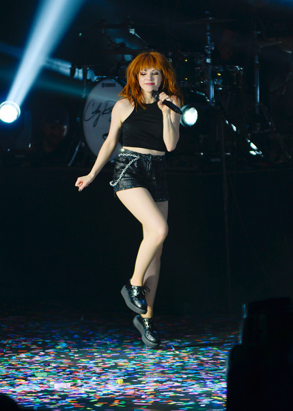 Carly Rae Jepsen performing live in Manila.