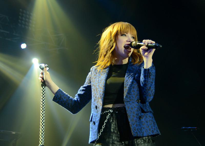 Carly Rae Jepsen performing live in Manila.