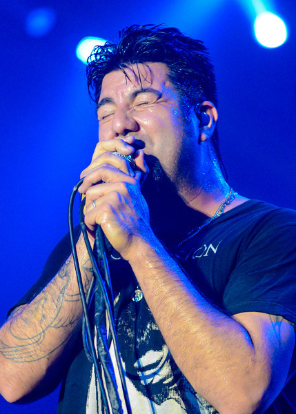 Deftones performing live during their Koi No Yokan Tour at the World Trade Center, Manila, Philippines.