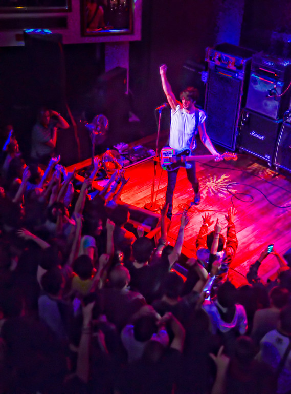 Japandroids performing live at Hard Rock Cafe Manila.