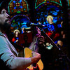 KRISTOPHER RADDER — BRATTLEBORO REFORMER<br /> Guitarist, Jason Scaggs, of Chesterfield, N.H., plays a set while being live-streamed at the Stone Church, in Brattleboro, Vt. The Stone Church has been putting on different live-stream events after the COVID-19 pandemic forced the music venue to close to the public.