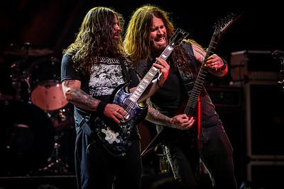 Andreas Kisser (Sepultura) and Phil Demmel (Vio-lence) - Metal Allegiance