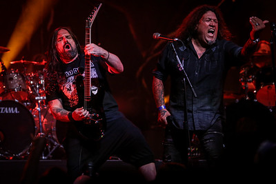 Andreas Kisser (Sepultura) and Chuck Billy (Testament) - Metal Allegiance
