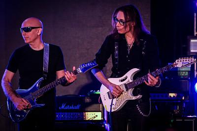 Joe Satriani and Steve Vai - Metal Hall of Fame 2020