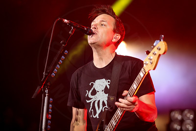 Blink 182 perform at The 2016 KROQ Weenie Roast at Irvine Meadows on Saturday May 14, 2016 in Irvine, Calif.
