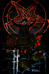 King Diamond performs in concert