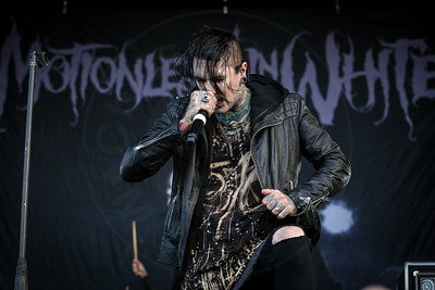 Motionless in White @ Vans Warped Tour – 08/05/2016