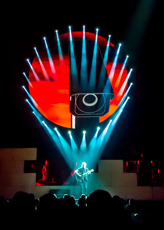 Roger Waters at Philips Arena in Atlanta in June 2012.  Shot with Fuji F600EXR point-and-shoot