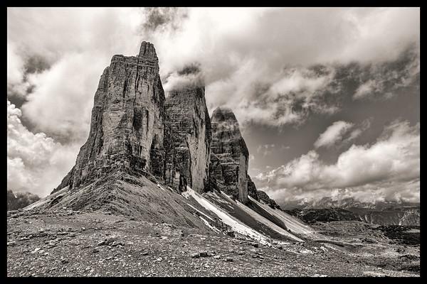 Tre Cime in the Dolomites