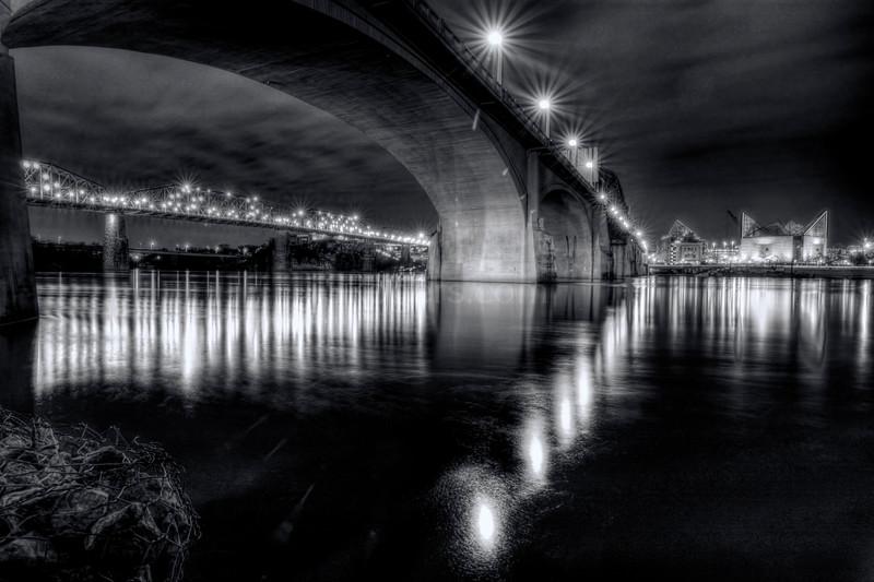 Riverfront and Bridges