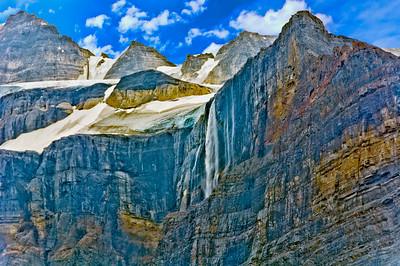 Glacial Runoff Waterfall