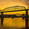 Chattanooga Riverfront  Sunset