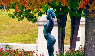 Autumn Statue