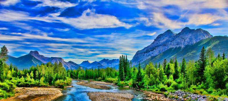Kananaskis Country in Alberta, Canada