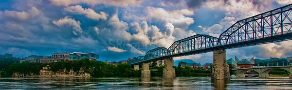 Clouds above the Chattanooga Skyline