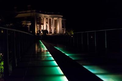 Hunter Museum at Night