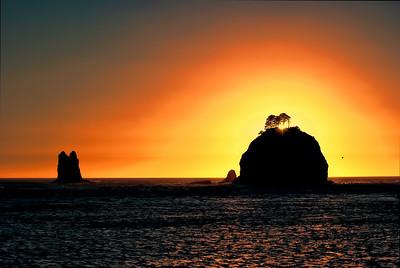 Pacific Ocean Sunset 1