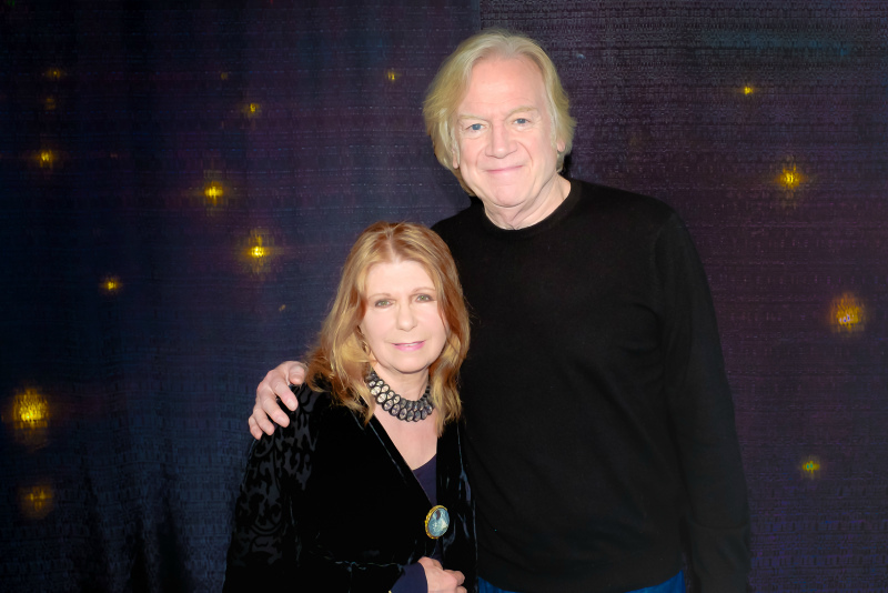 Annie Haslam (Renaissance) and Justin Hayward (Moody Blues)