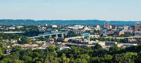 Chattanooga from above