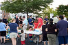 National Night out at Quince Orchard Park - with the Mayor of Gaithersburg and the City Council members