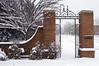 March 2nd Snow Storm - Kentlands entrance.