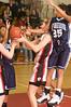 12 Kramer - QO's Jess Kramer fights for a rebound against Springbrook on Senior night.