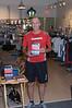 Kentlands Downtown Partnership. Runner's Wrold Bart Yasso promotes his running book My Life on the Run with Kentland's Fleet Fleet Thursday night fun run runners.